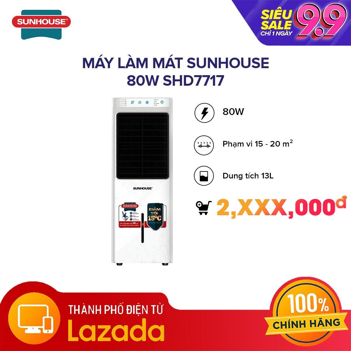 Giá Máy làm mát Sunhouse 80W SHD7717