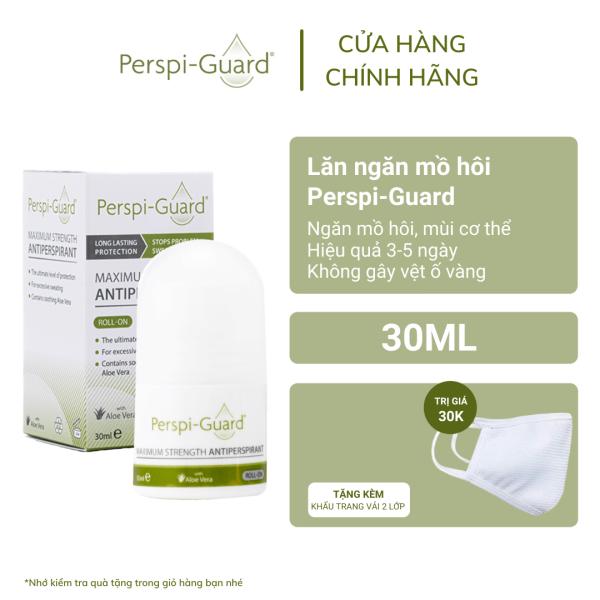 Lăn ngăn mồ hôi hiệu quả tối đa Perspi-Guard Maximum Strength Antiperspirant Roll On 30ml giá rẻ