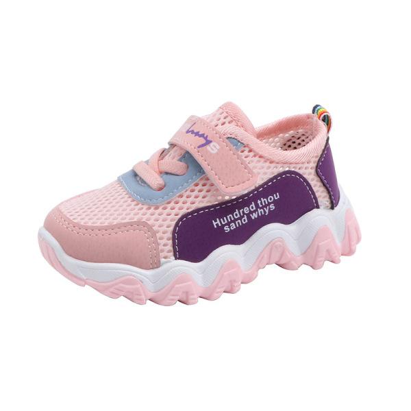 Giá bán Giày bé gái cao cấp siêu thoáng khí, chống trơn trượt tốt dành cho bé 1-8 tuổi