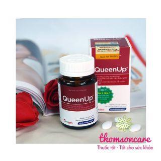 QueenUp - Hỗ trợ tăng cường nội tiết tố nữ giúp làm đẹp da ngăn ngừa lão hóa da thumbnail