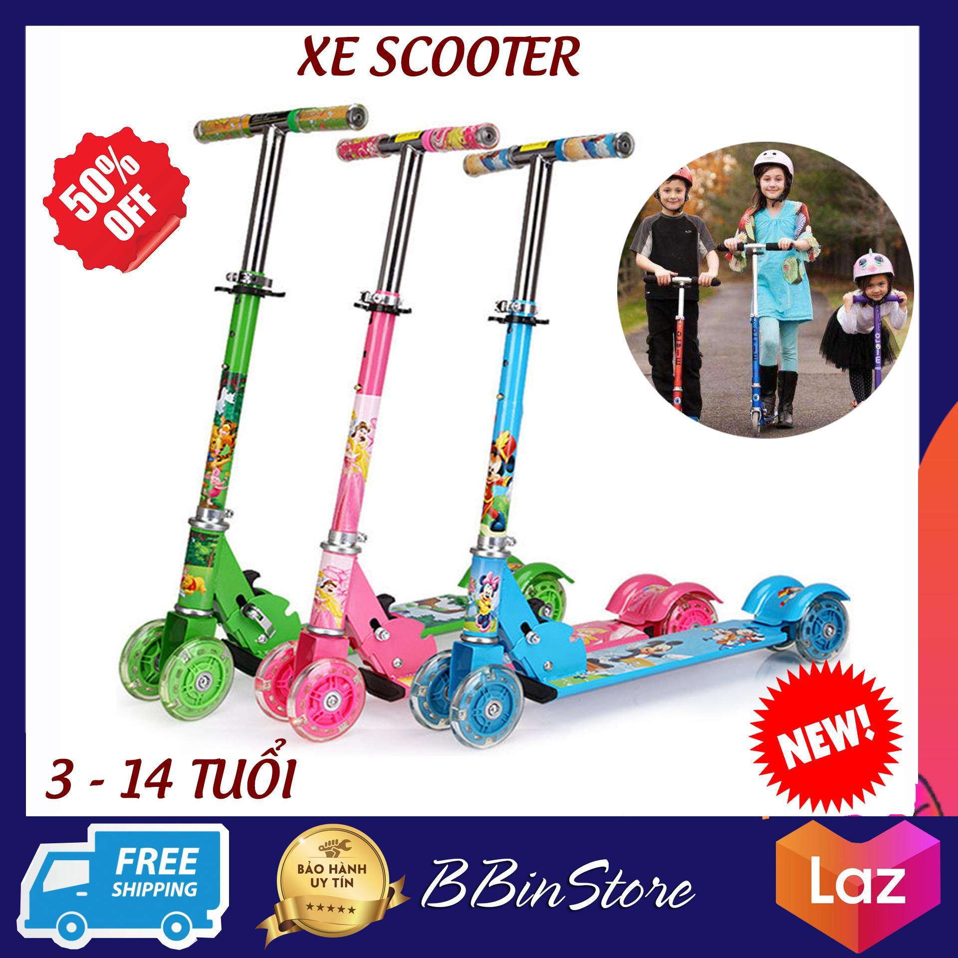 Offer Giảm Giá Xe Scooter Trẻ Em - Thiết Kế Chắc Chắn Gọn Nhẹ, Hình Thù Ngộ Nghĩnh Bắt Mắt - Đồ Chơi Thể Thao Ngoài Trời Cho Trẻ, Xe Đạp Cho Trẻ Tập Đi, Xe Trượt Scooter Màu Xanh Lá Cho Bé Trai - BBinstore