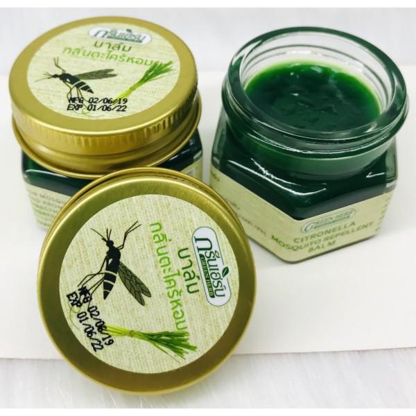 Combo 2 Hũ Dầu Cù Là Muỗi Đốt Citronella Mosquito Balm 20gr – Thái Lan giá rẻ