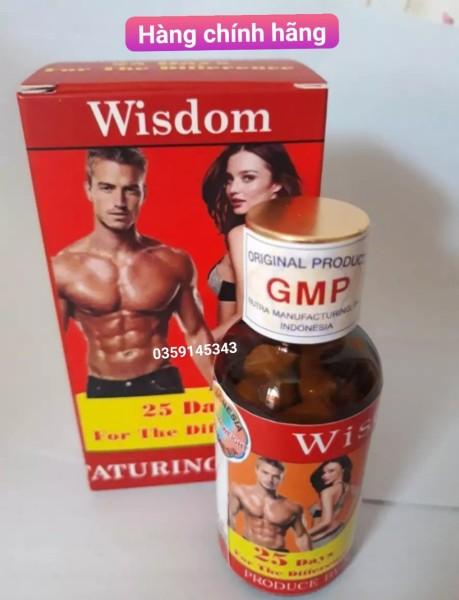 Viên Uống Hỗ Trợ Tăng Cân và Cơ Bắp Wisdom Weight (Hộp 25 viên) nhập khẩu