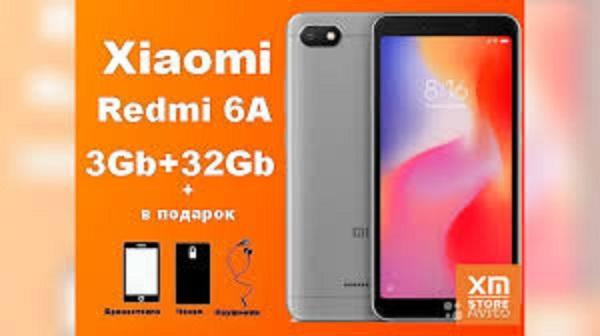 Xiaomi Redmi 6A 2sim ram 3g rom 32g fullbox, Camera siêu nét -  có Tiếng Việt