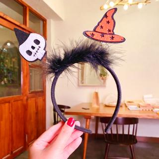 Băng đô Halloween cao cấp phối họa tiết sành điệu đính lò xo nhún nhảy sinh động và đáng yêu BBShine HLW005 thumbnail