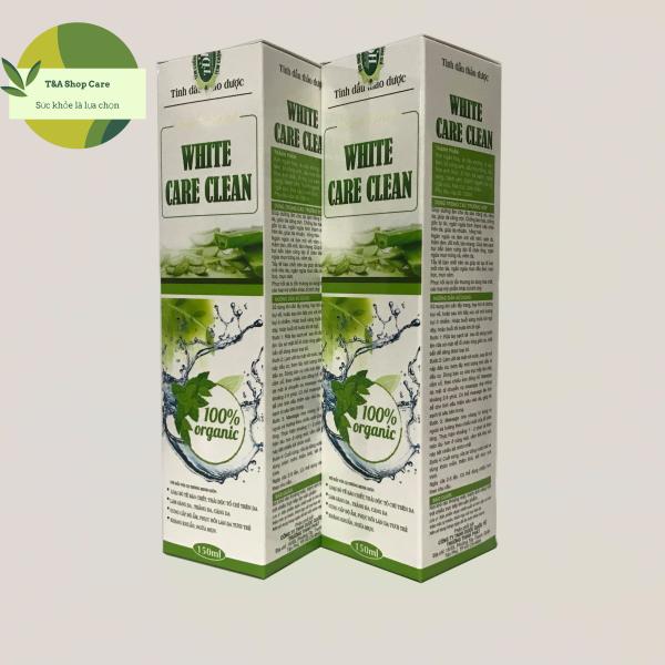 Sữa rửa mặt tinh dầu thảo dược White Care Clean