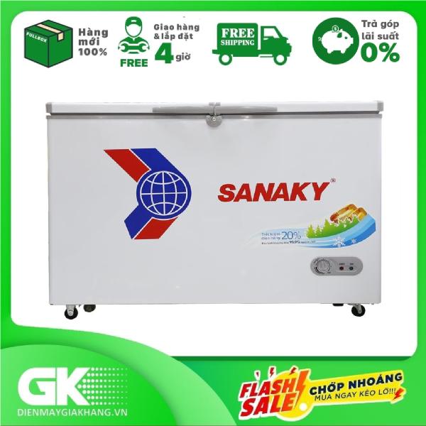 [Nhập ELMAY21 giảm 10% tối đa 200k đơn từ 99k]TRẢ GÓP 0% - Tủ Đông Sanaky VH-2899W1 (220L) Gas R600a thân thiện với môi trường làm lạnh và làm đông nhanh chóng dễ điều chỉnh nhiệt độ- Bảo hành 2 năm