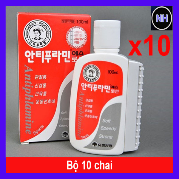 Combo 10 Dầu Nóng Hàn Quốc Antiphlamine 100ml