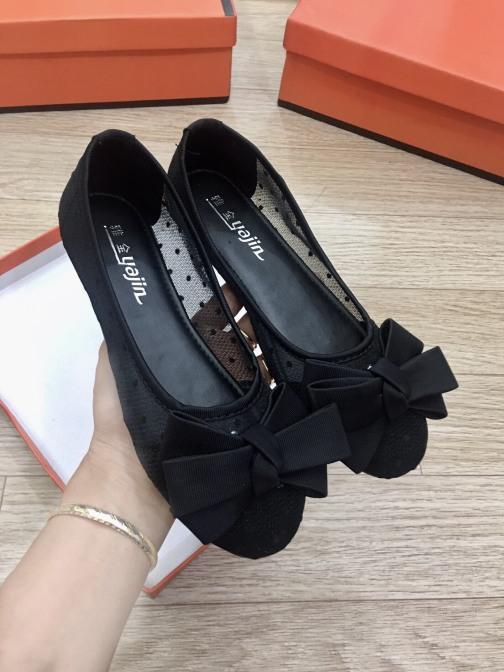 Giày bệt nữ búp bê chất vải lưới cực thoáng chân giá rẻ