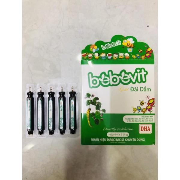 Bebevit Gold Đái Dầm - Hỗ trợ giảm các triệu chứng tiểu đêm cao cấp