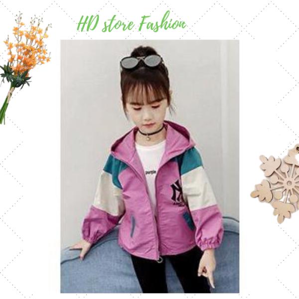 Giá bán áo khoác bé gái áo khoác cho bé Unisex từ 5 đến 14 tuổi D30 chất liệu cao cấp kiểu dáng thời trang