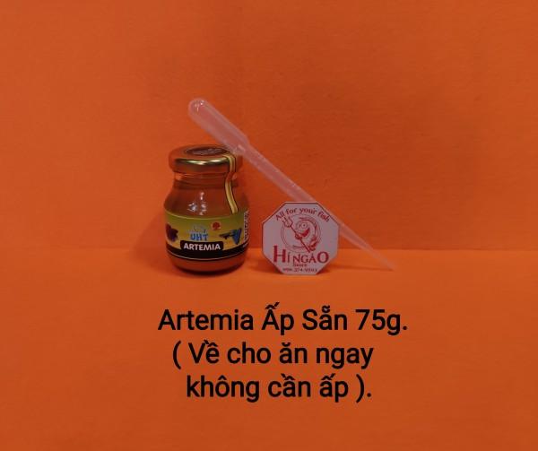 Artemia UHT Thanh Trùng - Thức ăn cá bột - Thức ăn cá betta bột | Hingaostore.