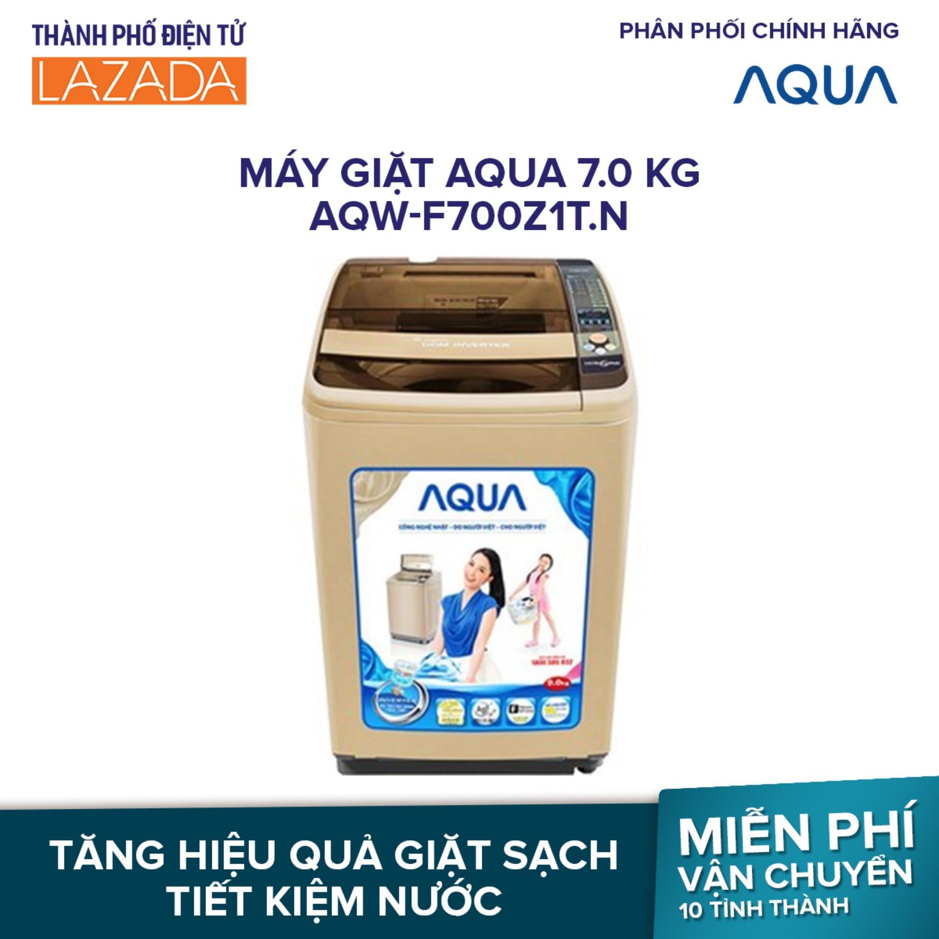 Máy Giặt AQUA 7.0 Kg AQW-F700Z1T.N - Hãng phân phối chính thức