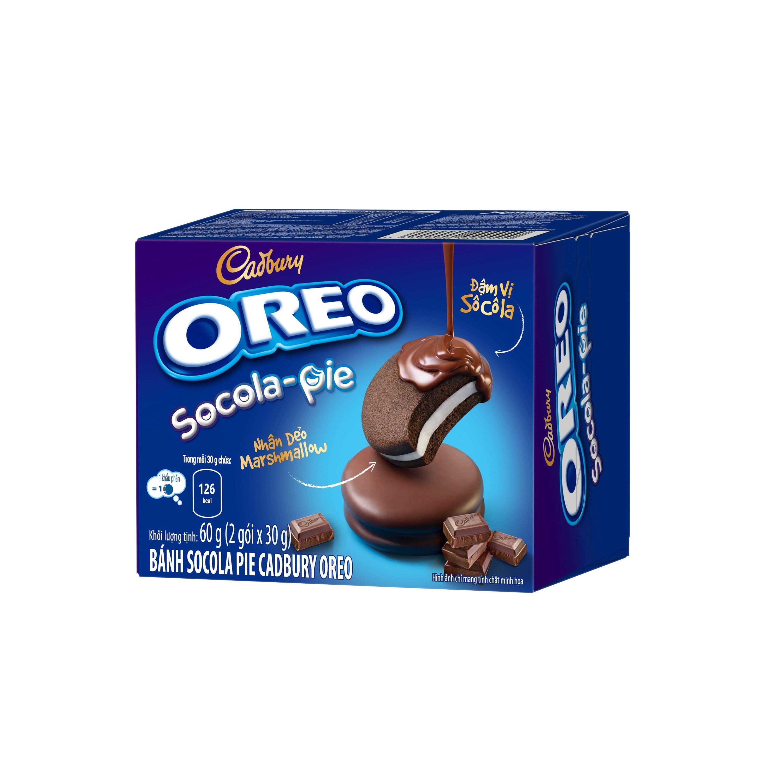 [Qùa tặng - vui lòng không đặt] Bánh OREO Sôcôla Pie  Hộp 2 cái (30g/cái)