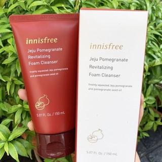 Sữa rửa mặt lựu đỏ Innisfree - Sữa rửa mặt lựu đỏ Innisfree Jeju 150ml, thành phần cao cấp, lành tính, an toàn cho người sử dụng, cam kết sản phẩm như mô tả thumbnail