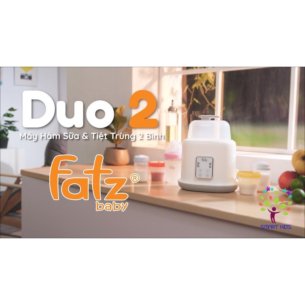 Máy hâm sữa tiệt trùng 2 bình điện tử Duo 2 Fatz baby FB3223SL