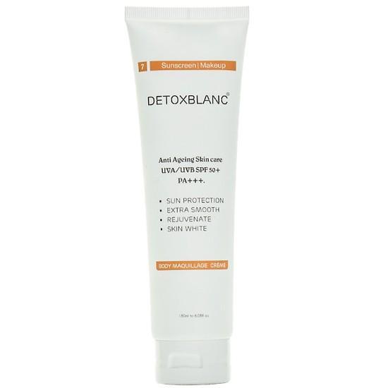 Kem dưỡng thể trắng da chống nắng Ban Ngày Detox Blanc 180ml