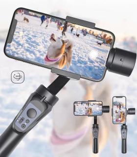[HÀNG NHẬP KHẨU] Mua Ngay Tay Cầm Chống Rung 3 Trục Dành Cho Máy Ảnh, Điện Thoại .Thiết Bị Chống Rung Chuyên Nghiệp, Thiết Bị Quay Phim. Gimbal chống rung cho điện thoại thông minh sử dụng hệ điều hành Android và IOS 3 trục xoay 360 nhào lộn tùy thích tr thumbnail
