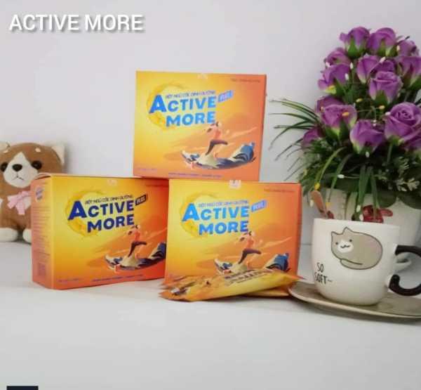 Sữa ngũ cốc ACTIVE more