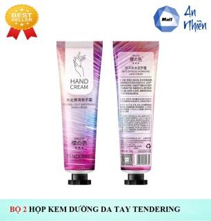 Bộ 2 Hộp Kem Cho Tay Chiết Xuất Hoa Anh Đào Tendering - Mẫu mới thumbnail