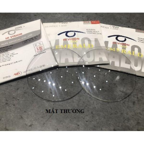 Giá bán Mắt kính cận/loạn theo yêu cầu, mắt kính chống xước/ chống tia uv/ blue cut