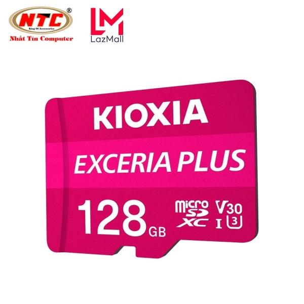 Thẻ nhớ MicroSDXC Kioxia Exceria Plus 128GB U3 4K V30 A1 R100MB/s W65MB/s (Tím) - Formerly Toshiba Memory - Nhat Tin Authorised Store