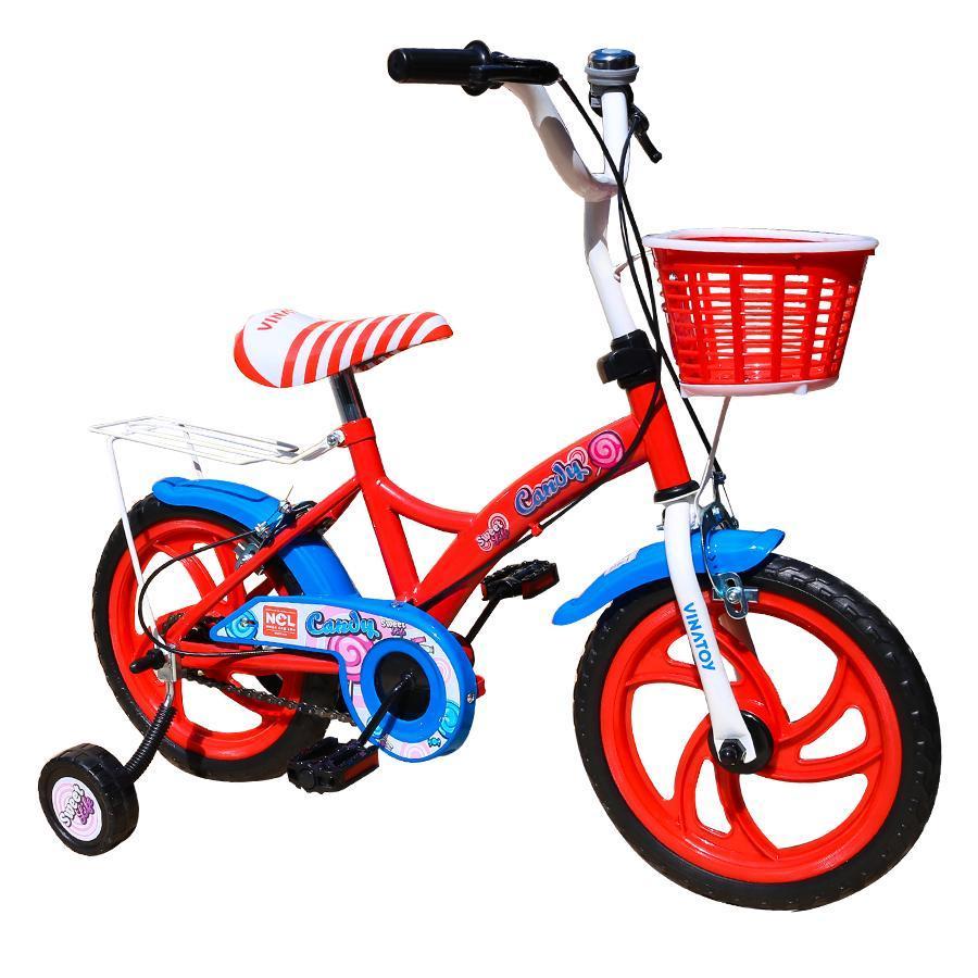 Mua Xe đạp trẻ em Nhựa Chợ Lớn 14 inch K105 - M1819-X2B