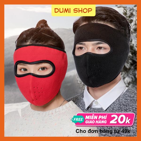 Khẩu Trang Ninja Kín Mặt Loại Cao Cấp Không Kính Chống Nắng Cực Tốt – Dumi Shop