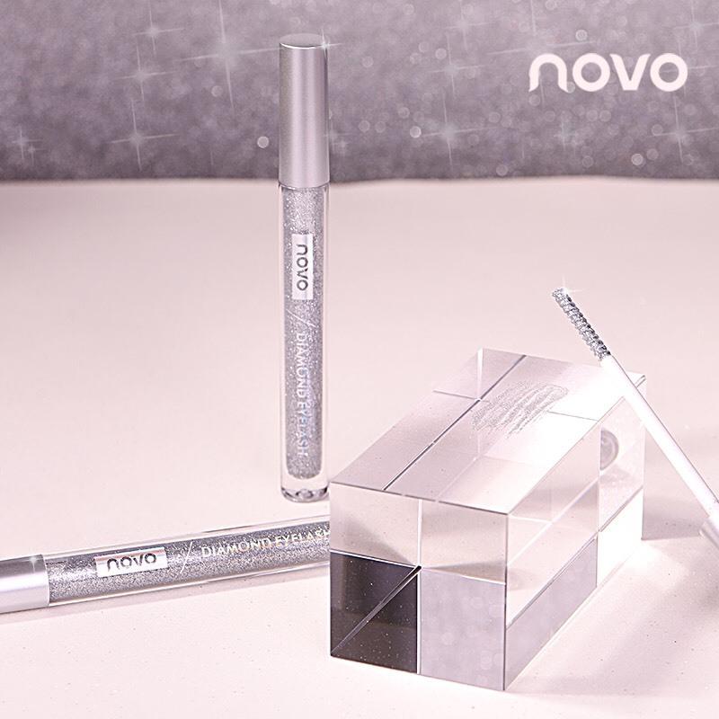 Mascara NOVO Diamond chải mi nhủ kim tuyến lấp lánh nhập khẩu