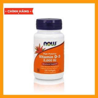 Now Vitamin D3 5000IU 120 viên - Bổ Sung Giúp Xương Khớp Chắc Khỏe thumbnail
