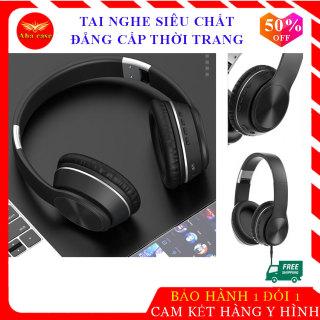 [Mẫu Mới] Tai nghe chụp tai chính hãng K33, tay nghe bluetooth cao cấp, kết nối không dây, có dây 3.5mm, khe cắm thẻ nhớ tiện lợi, âm thanh chân thực, bảo hành 12 tháng thumbnail