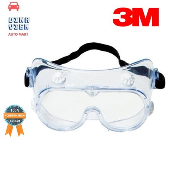 Giá bán [ CAO CẤP] Kính bảo hộ chống hóa chất 3M 334 Splash Safety Goggles Anti-Fog Lens DV AUTO MART