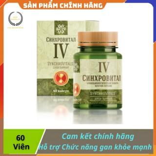 [ CHÍNH HÃNG ] - Thực phẩm hỗ trợ bảo vệ và tăng cường chức năng gan, Siberian Health Synchrovitals IV, - Hộp 60 viên thumbnail