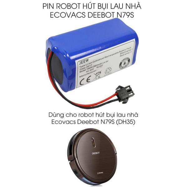 Pin Robot hút bụi lau nhà Ecovacs deebot N79