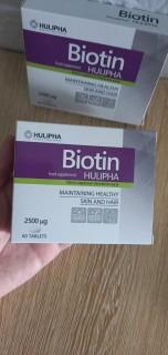 Viên uống BIOTIN Hulipha ( BA LAN) Hộp 60 viên uống 2 tháng cho tóc khỏe, da đẹp thumbnail