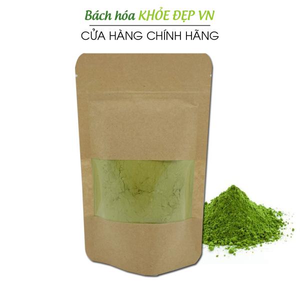 Bột cỏ lúa mì hữu cơ sấy lạnh túi 100g Hỗ trợ thải độc Gan và Máu, Ngăn ngừa và hỗ trợ tiểu đường, Hỗ trợ tiêu hóa, giảm táo bón