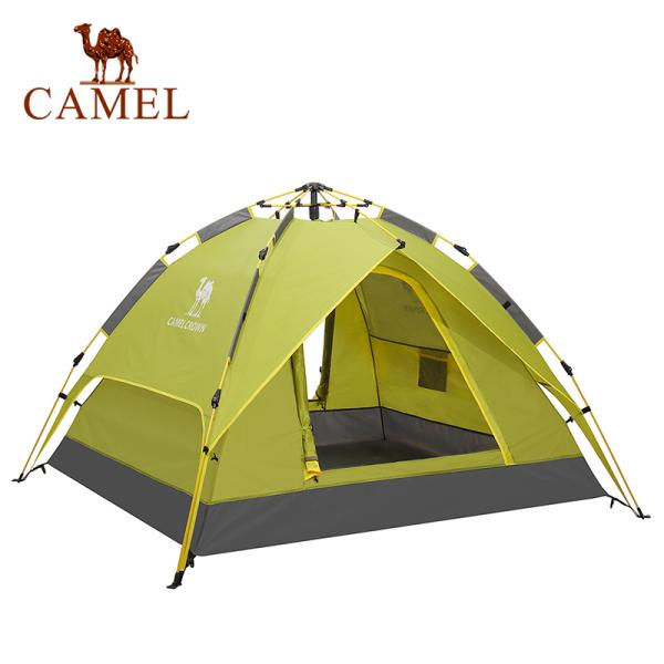 Lều cắm trại ngoài trời 3-4 người chống thấm nước dễ dàng gấp gọn tiện lợi CAMEL