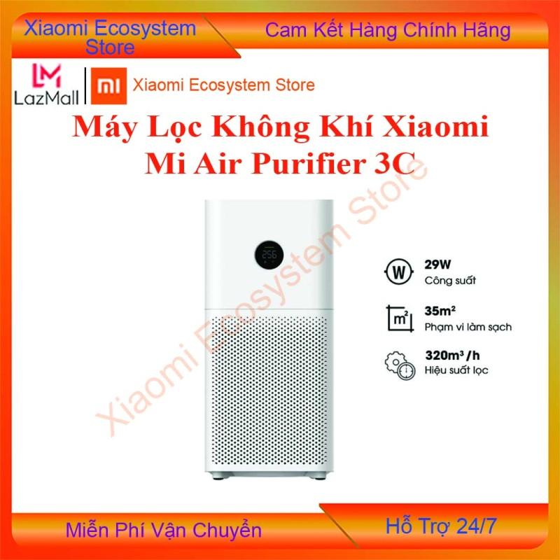 [Trả góp 0%][BH DIGIWORLD] Máy Lọc Không Khí Xiaomi Air Purifier 3C 3H lọc 97% bụi PM2.5 khử mùi diệt khuẩn điều khiển app có màn hình hiển thị   XIAOMI ECOSYSTEM STORE