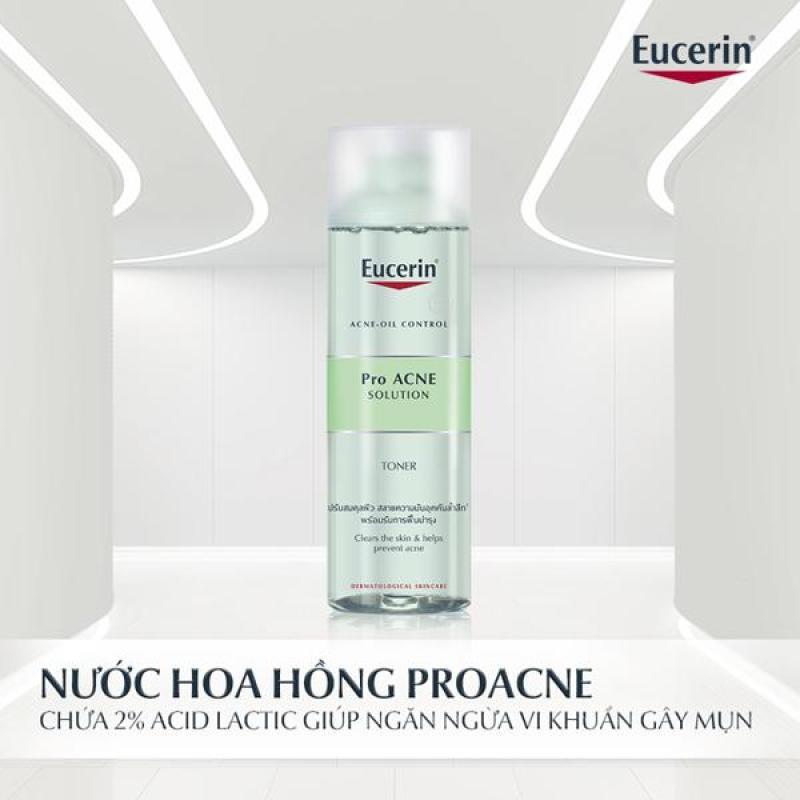 Sữa Rửa Mặt Cho Da Mụn Eucerin Pro ACNE Solution Cleansing Gel 200ml cao cấp