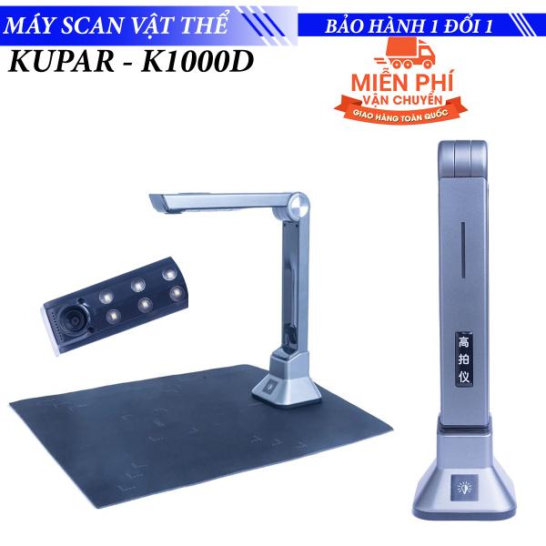Bảng giá Máy Scan Quét Văn bản lên Máy tính laptop chuyển file thành word PDF Kupar - K1000D Phong Vũ