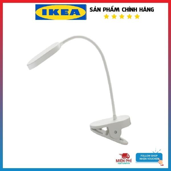 Đèn Led đọc sạch học tập làm việc kẹp đầu giường có thể điều chỉnh độ sáng sạc USB Ikea Ik75