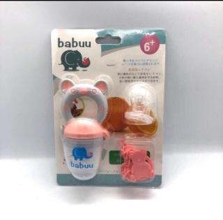 Túi nhai ăn dặm babuu của Nhật thumbnail