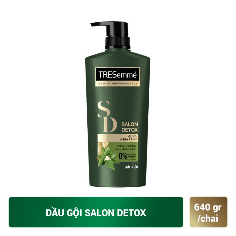 Dầu Gội Tresemmé Salon Detox Tóc Chắc Khoẻ (640g)