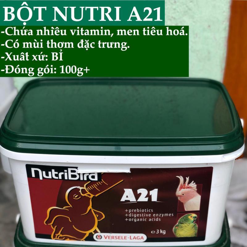 BỘT NUTRI A21 CHO VẸT NON (GÓI 100G chiếc lẻ)