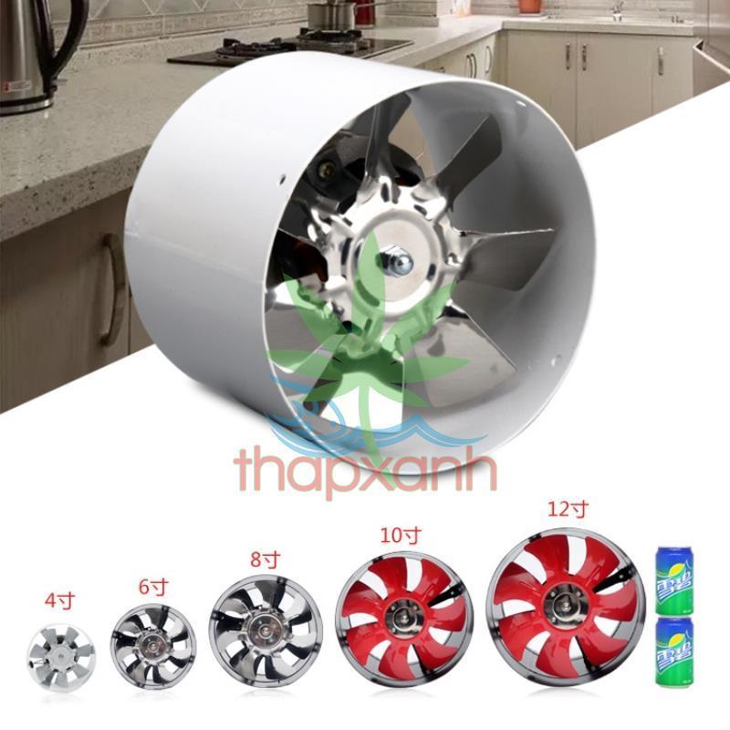 Quạt thông gió, quạt thông khí, quạt hút gió cho lều trồng GY-100 (20W)