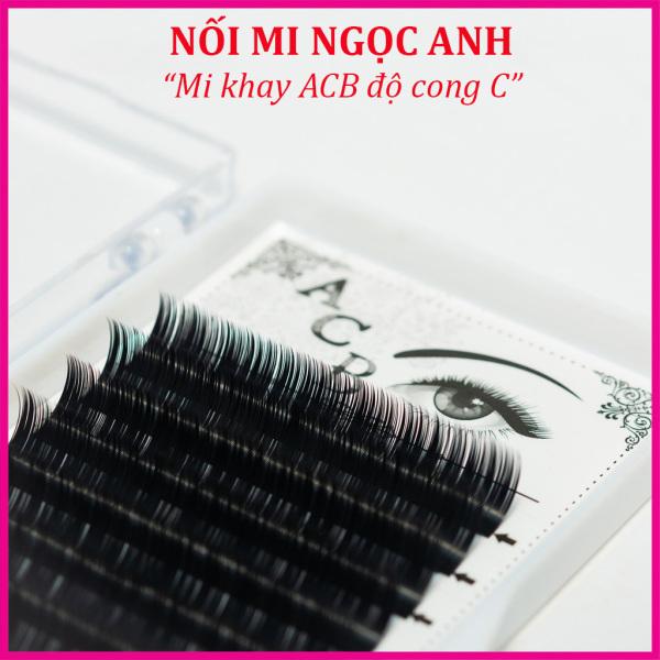 Mi khay ACB độ cong C, chất mi silk Hàn, mềm dễ bắt keo, dùng để nối volume, classic