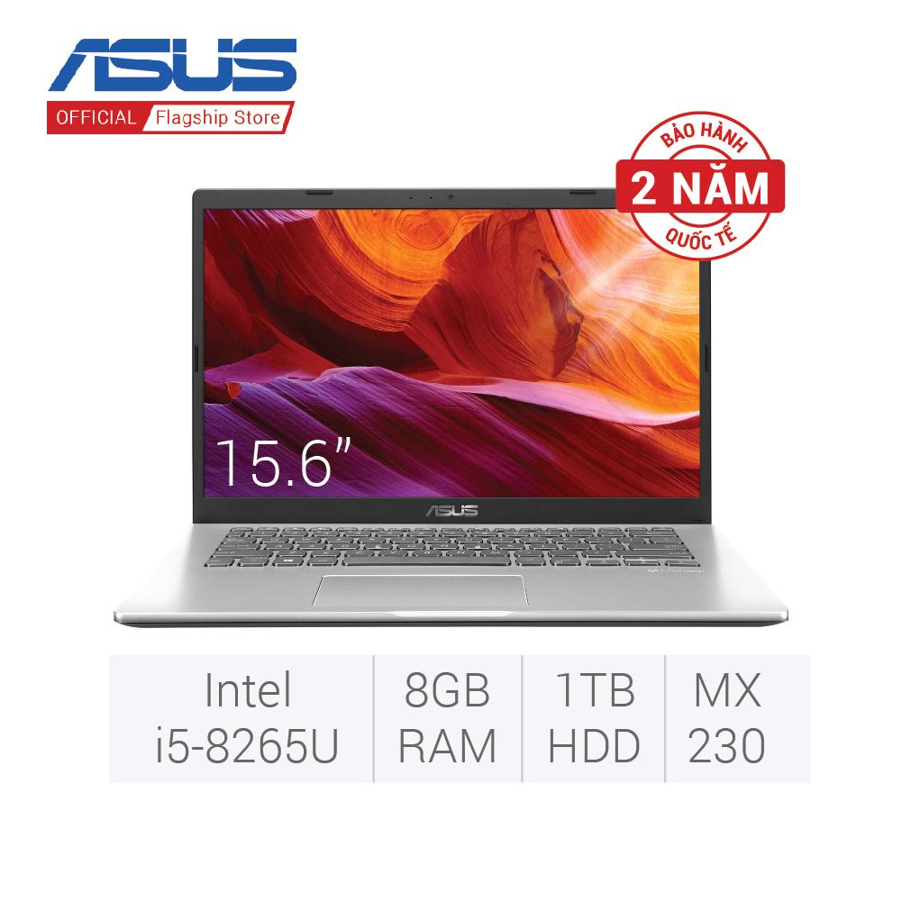 Laptop ASUS VivoBook X509FJ-EJ132T i5 8265U 8GB+16GB 1TB HDD 2GB MX230 Win 10 màu bạc sản phẩm được bảo hành 2 năm