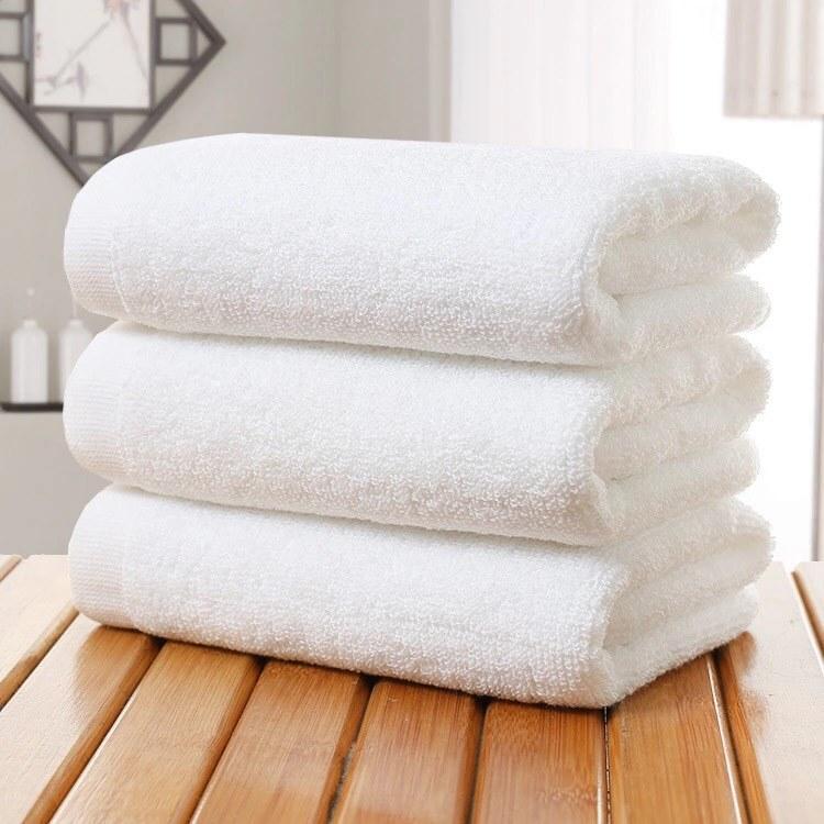 Khăn tắm khách sạn, khăn nhà nghỉ khăn homestay khăn Spa,Khăn quấn body khăn 100% cotton kt 70*1m4*400gram, chất lượng cao
