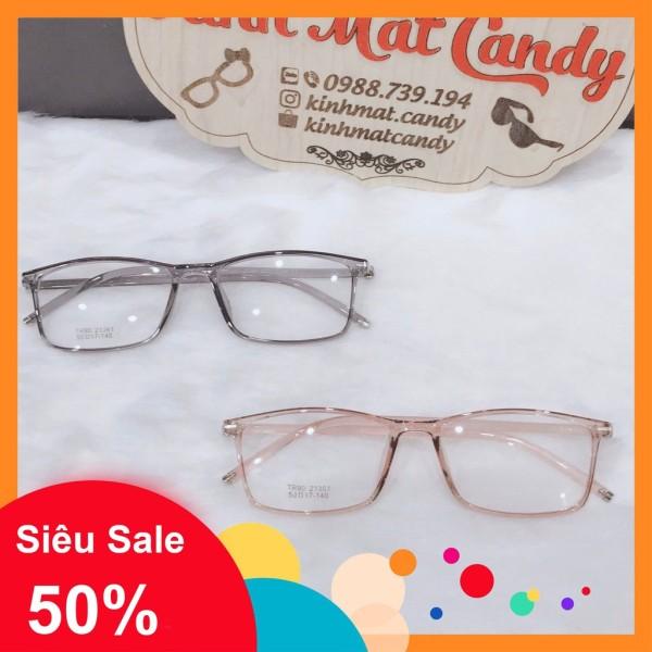 Giá bán Gọng kính cận vuông, nhựa dẻo cho cả nam và nữ 21361 - Tiệm kính Candy