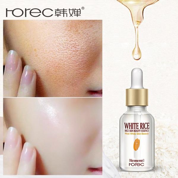 Serum Dưỡng Trắng Da Rice White Skin Beauty Của Rorec nhập khẩu